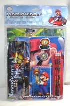 Mariokart Mario Kart 11 Piece Set Back To School Stationery Set Nintendo NEW - $19.79