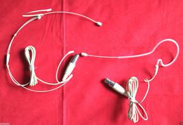 2Pcs  Dual + one Hook Headset head worn Mic Microphone for Samson AKG Wi... - $39.50