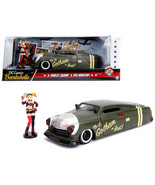 1951 Mercury Matt Green with Harley Quinn Diecast Figure DC Comics Bombs... - $48.85