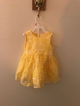 New The Childrens Place Baby Girls 12-18 Month Yellow Lace Gorgeous East... - $8.91