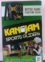 Kan Jam Sports Gliders Game Set New in Box ~ made in USA Notre Dame - $8.90