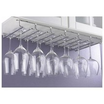 Useful. UH-A103 Under Cabinet Stemware Rack Hold up to 18 Wine Glasses - $29.90