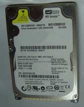120GB IDE 2.5 inch Drive WD1200BEVE Free USA Shipping Our Drives Work - $24.40