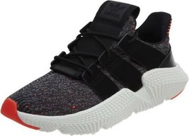 Adidas Mens Prophere Athletic Sneakers sz 9.5 Core Black White Solar Red... - $103.94