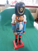 """Great Collectible Wood TOY SOLDIER Nutcracker 11.5"""" height - $12.46"""