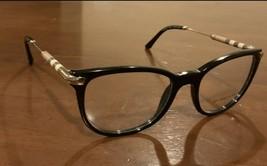 Burberry Women's Eyeglass Frames Black/Gold Optical Frame 51mm - $143.99