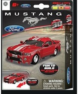 Ford Mustang FR500C- Red 3D Jigsaw Puzzle Car Kit - $12.95