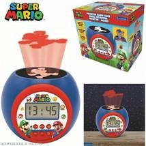 CHILDRENS like super mario PROJECTOR BEAM DIGITAL RADIO ALARM CLOCKS LEX... - $28.66