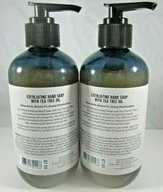 2 Bath & Body Works Exfoliating Hand Soap tea tree oil  Winter White Woods image 2