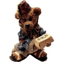 Boyds Bears, Nativity, Wilson as Melchior with Gold, PRISTINE, NO BOX - $13.95