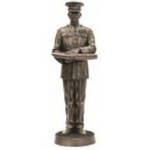 "USMC U.S. Marine Honor Guard Final Duty 12"" Cold Cast Bronze Statue - $98.99"