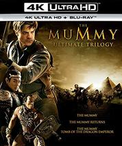 The Mummy Ultimate Trilogy  [4K Ultra HD + Blu-ray 6 Disc Set]