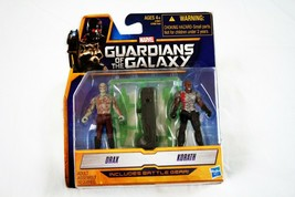 "Marvel Guardians of the Galaxy 2.5"" Action Figures 2 pack Drax and Korat... - $19.78"