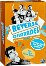 Spin Master Original Reverse Charades Card Game Party Game New Sealed Complete - $14.84