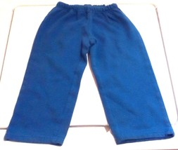 Championship Gold Toddler Boy's Athletic Jogging Pants Royal Blue Size 2... - $3.96