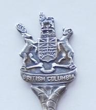 Collector Souvenir Spoon Canada BC Centennial 1871 1971 Coat of Arms Embossed - $6.99