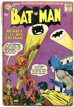 Batman #135 1960- DC Silver Age- Bat Signal cover G - $75.66