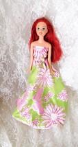 "Disney Little Mermaid - 11 1/2"" doll #7012HF1 - Handmade Dress - $9.49"