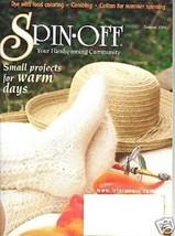 Spin-off magazine summer 2004: eyelet socks; combing, spiral vortex bowl, dyeing - $9.85