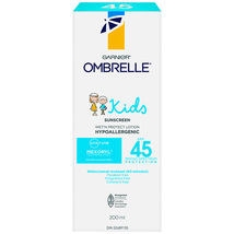 Garnier Ombrelle Kids Sunscreen 2 x 45spf  Canada  - $79.99