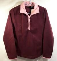 St Johns Bay Active Quarter Zip Fleece Jacket Womens Small NEW TAGS - €13,42 EUR