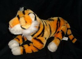 "18"" VINTAGE DISNEY ALADDIN RAJAH ORANGE BLACK TIGER STUFFED ANIMAL PLUSH TOY BIG image 3"