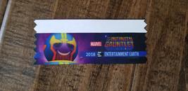 2018 SDCC ENTERTAINMENT EARTH PROMO BADGE RIBBON MARVEL THE INFINITY GAU... - $7.91