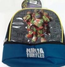 Teenage Mutant Ninja Turtles 2 Compartment Anti-Bacterial Lunch Bag - $8.99