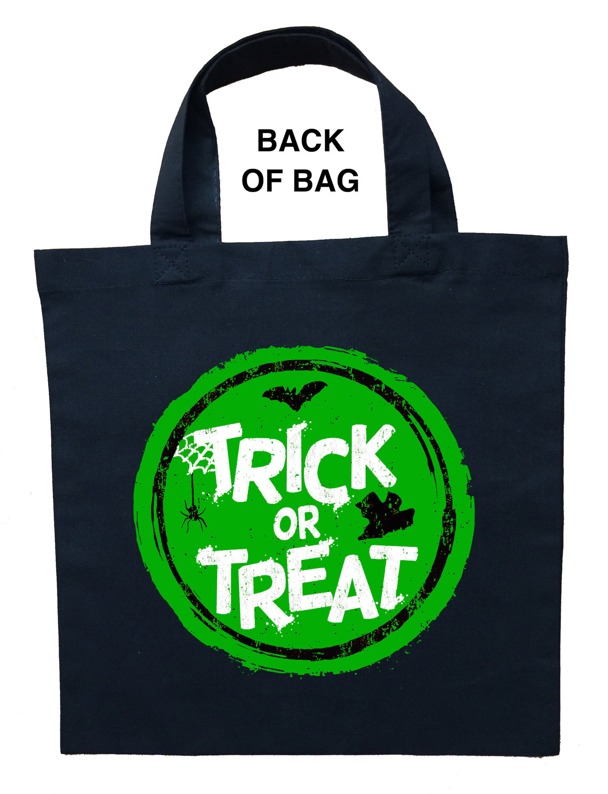 Joker Trick or Treat Bag - Personalized Joker Halloween Bag image 2
