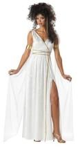 Athenian Goddess Halloween Costume Adult Womans Large 10 - 12 - $43.99