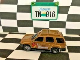 Matchbox Across America 016 Tennessee Nissan Xterra Gold Loose EX Plate - $3.95