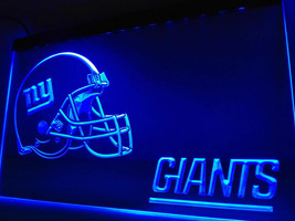 NY New York Giants Helmet LED Neon Sign Light NFL Football Sports Team - $22.79
