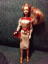 Ooak Red Headed Barbie Doll - $15.83