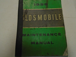 1958 GM Oldsmobile Olds Alle Modelle Service Shop Repair Manuell Fabrik ... - $89.09