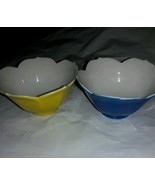 Vintage Porcelain Japan Nut / Candy Dishes Pastel Glaze - $9.90
