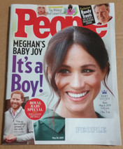 People Magazine (May 20 2019) Megan's Baby Joy - $4.25
