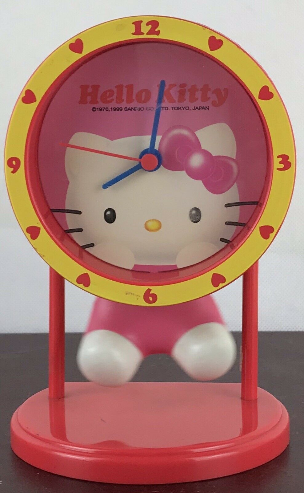 Primary image for Hello Kitty Sanrio 1976 Clock( Untested)