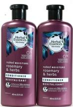 3 Herbal Essences 13.5 Oz Bio Renew Naked Moisture Rosemary & Herbs Conditioner - $24.99