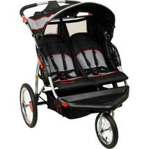 Baby Trend Twin Stroller Outdoor Double Jogger Millennium Baby Toddler Comfort - $169.98