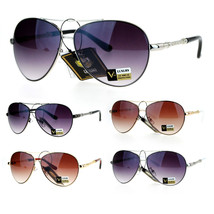 SA106 Unique Cable Wire Rope Arm Luxury Aviator Sunglasses - $12.95