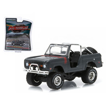1968 Ford Bronco Custom Steel Gray All Terrain Series 1 1/64 Diecast Model Car b - $11.78