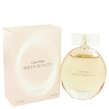 Sheer Beauty by Calvin Klein Eau De Toilette Spray 3.4 oz (Women) - $35.73