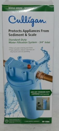 Culligan Standard Duty Water Filtration System 3/4 Inch Inlet HF150A