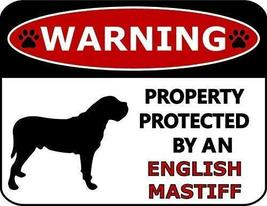 2 Count Top Shelf Novelties Warning Property Protected by A English Mast... - $12.69