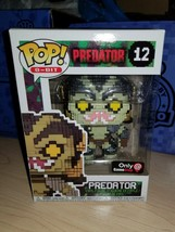 Predator Funko Pop #12 Game Stop Exclusive Black Friday Only!!! Predator 8 Bit!! - $15.35