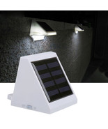 4LED Solar Powered Outdoor Light Waterproof Path Stairway Fence Wall ~ U... - $4.50