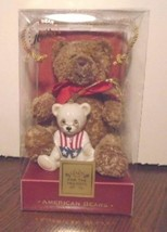 NEW Lenox  American Bears 100th Anniversary Plush Bear & Ornament - $12.87