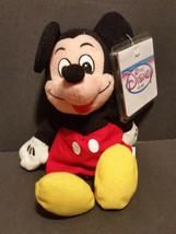 The Disney Store Bean Bag Plush Mickey Mouse - $5.65