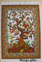 Tree of Life Wall Hanging Tapestry Hippy Wall Decor Multi-Color Tapestry India - $10.40