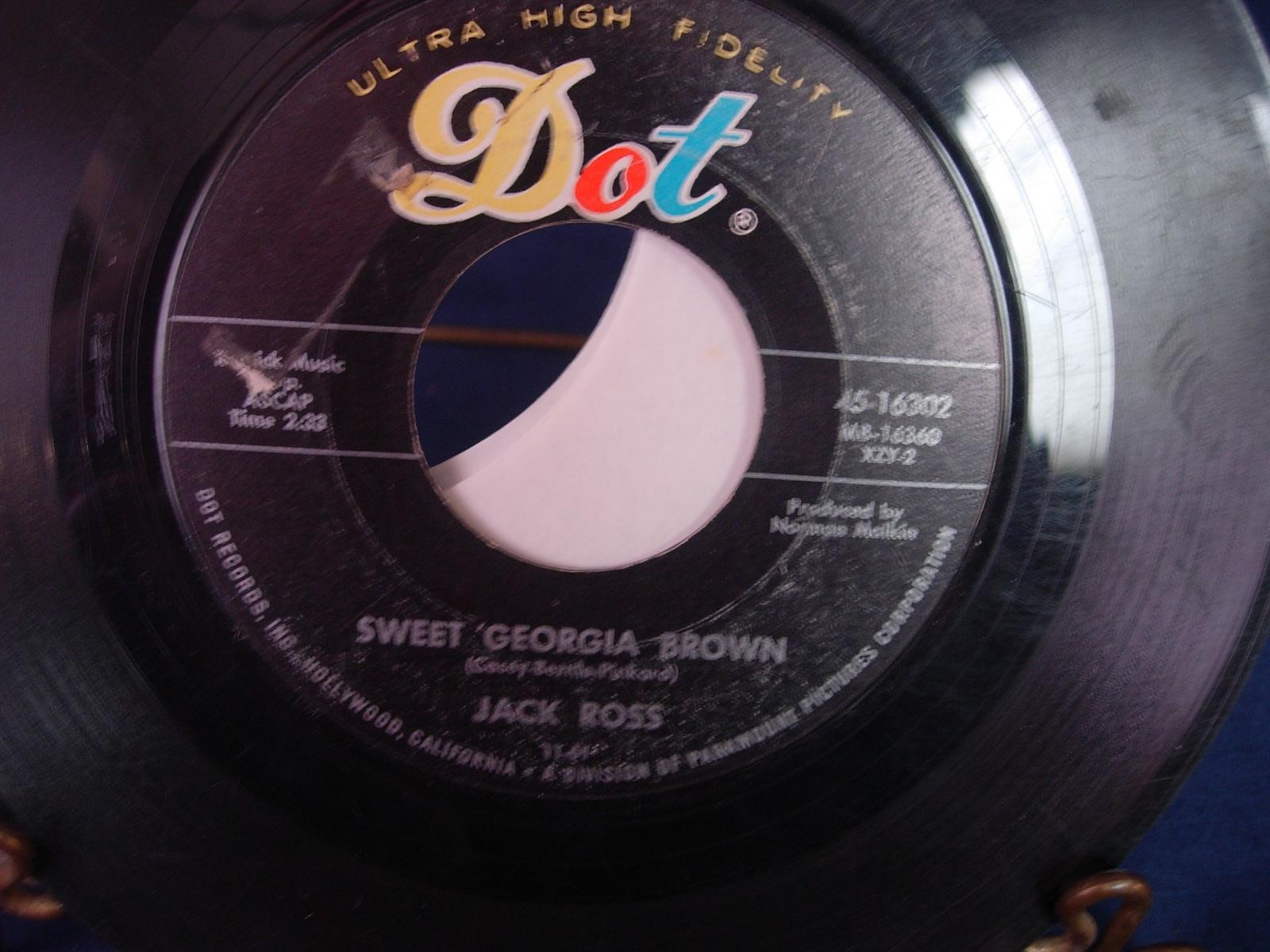 JACK ROSS Happy Jose / Sweet Georgia Brown - Dot 16302